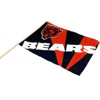 Team Flag on Stick - Bears - Sports Team Logo Gifts - Santa Shop Gifts