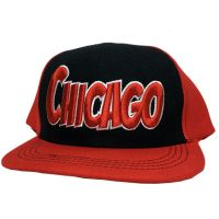 Chicago City - Flat Brim Hat - Cap - Sports Team Logo Gifts - Santa Shop Gifts