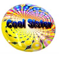 Cool Sister Stone Magnet - Sister Gifts - Santa Shop Gifts