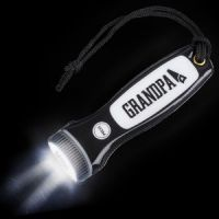 Grandpa LED Flashlight - Grandpa Gifts - Santa Shop Gifts