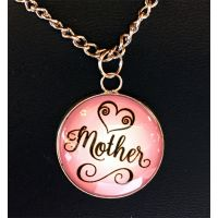 Mother Necklace on Card - Mom Gifts - Santa Shop Gifts