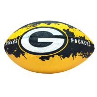 Green Bay Packers - 7 In. NFL Action Football - Sports Team Logo Gifts - Santa Shop Gifts