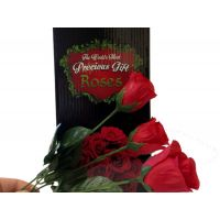Rose Buds on Long Stems - Mom Gifts - Santa Shop Gifts