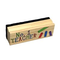 #1 Teacher Chalkboard Dry Eraser - Teacher Gifts - Santa Shop Gifts