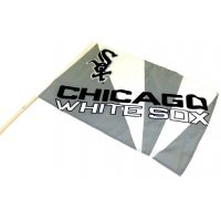 Team Flag on Stick - White Sox - Sports Team Logo Gifts - Santa Shop Gifts