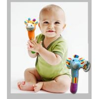 Animal Baby Rattle Plush - Baby Gifts - Santa Shop Gifts
