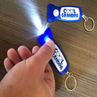Cool Grandpa Flashlight Key Chain - Grandpa Gifts - Santa Shop Gifts