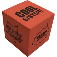 Cool Sister Foam Dice - Sister Gifts - Santa Shop Gifts