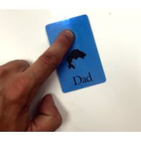 Dad Slim Wallet Flashlight