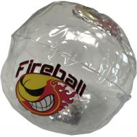 10 inch Light-up Inflatable Fire Ball - Gifts For Boys & Girls - Santa Shop Gifts
