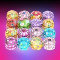 Glitter Deco Round Box - Gifts For Women - Santa Shop Gifts