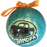 Grandpa Ornament - Grandpa Gifts - Santa Shop Gifts