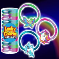 Lucky Charm Eraser Band - Gifts For Boys & Girls - Santa Shop Gifts