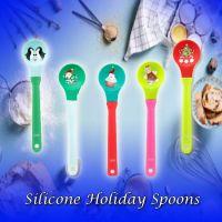 Holiday Silicone Spoon - Christmas - Holiday Gifts - Santa Shop Gifts