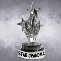 Star Grandma Trophy - Grandma Gifts - Santa Shop Gifts