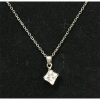 Diamond Pendant Necklace - Jewelry Gifts - Santa Shop Gifts