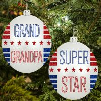Super Grandpa Ornament - Grandpa Gifts - Santa Shop Gifts