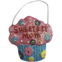 Sweetest Mom Ornament - Mom Gifts - Santa Shop Gifts