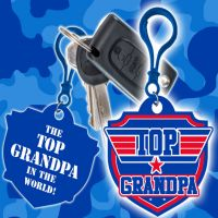 Top Grandpa Clip - Grandpa Gifts - Santa Shop Gifts