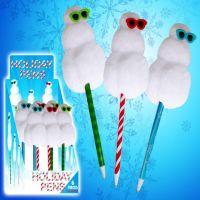 Snowman Holiday Pen - Christmas - Holiday Gifts - Santa Shop Gifts