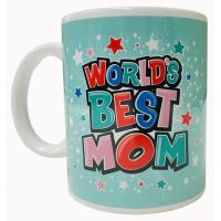 World's Best Mom Mug - Mom Gifts - Santa Shop Gifts